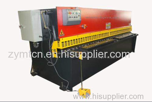 cnc metal plate shearing machine