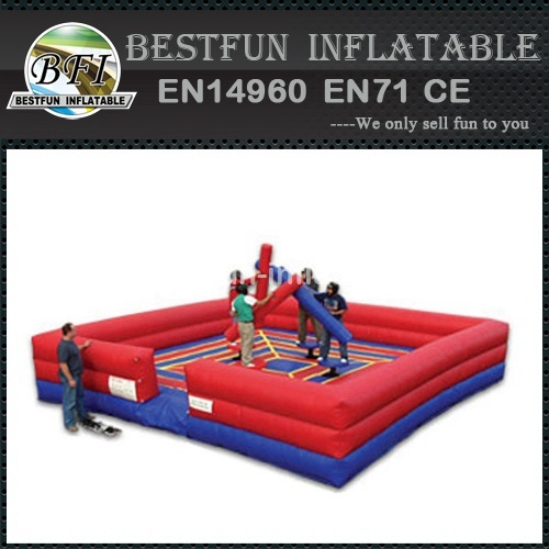 Inflatable sport games 4 Man Joust