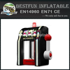 Cash vault inflatable money machine