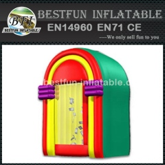 Inflatable jukebox plastic advertising