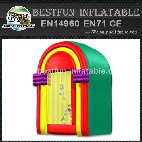 Inflatable jukebox plastic advertising
