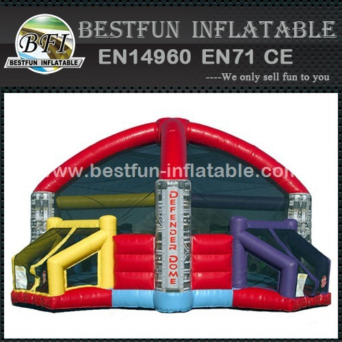 Defender dome for basketball and football