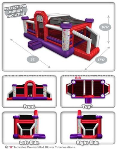 Designer Line Dual Defender Dome Interactive Game
