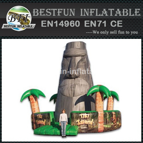Tiki Island Inflatable Interactive Game