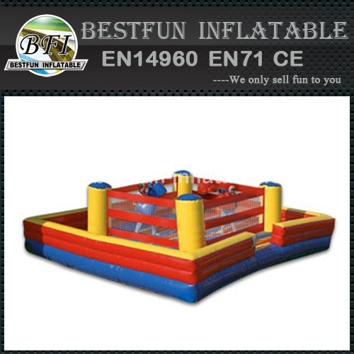 Inflatable sport games joust box