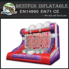 Inflatable GRAVITY ZERO carnival game