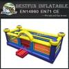Inflatable basketball hoop field bouncer