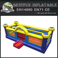 Funny inflatable bouncer basketball game