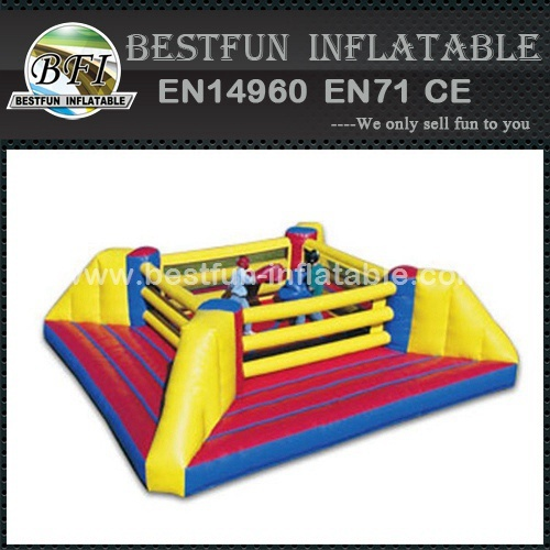 Inflatable boxing ring sports game