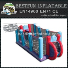 Inflatable outdoor sports equipment