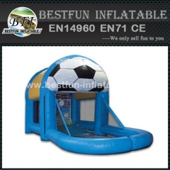 Inflatable deluxe sports cage