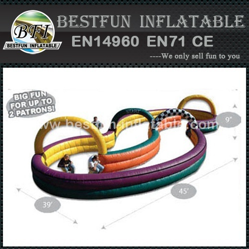 Go kart Inflatable air track