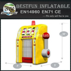 Funny Slot Machine Inflatable Game