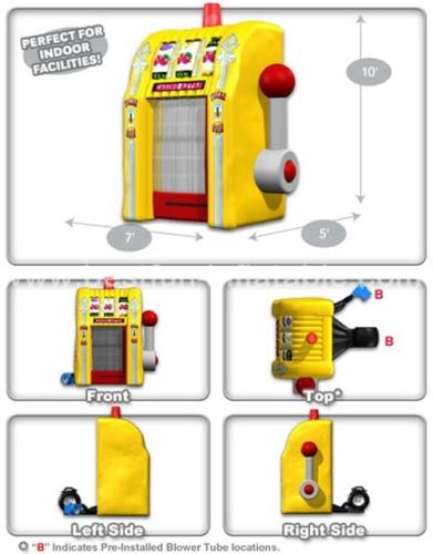 Inflatable Slots Money Machine