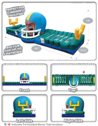 Touchdown Bungee Equalizer inflatable game