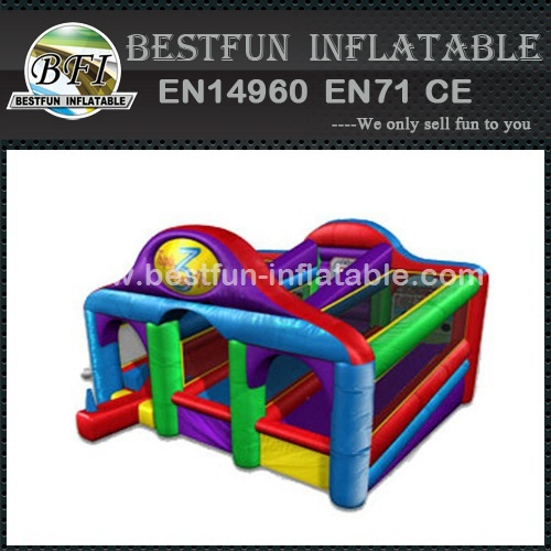 Inflatable Triple Play Game for Amusement