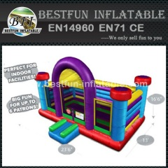 Funny inflatable basketball bouncer