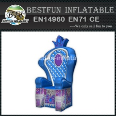Hot sale inflatable throne model