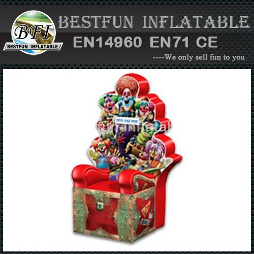 Hot sale Princess inflatable throne