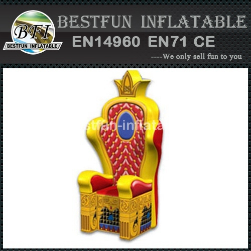 PVC Inflatable kings Throne