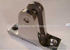 investment casting deck hinge 80°