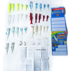 110pcs the most lifelike fishing lure