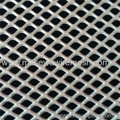 Expanded metal mesh used for partition wall
