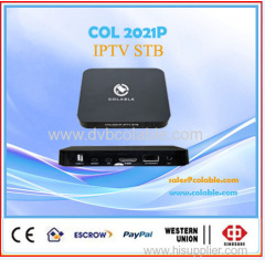 Andriod H.265 iptv decoder box