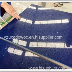 Sparkle Quartz Stone Countertop Slab