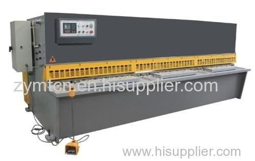 Swing beam nc hydaulic cutting machine