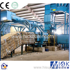 Plastic waste Hydraulic Baler Machine