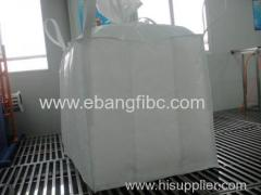 White Bulk Bag with Internal Baffles