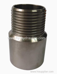 worldwide Male Stainless steel Pipe Threaded Transition fitting