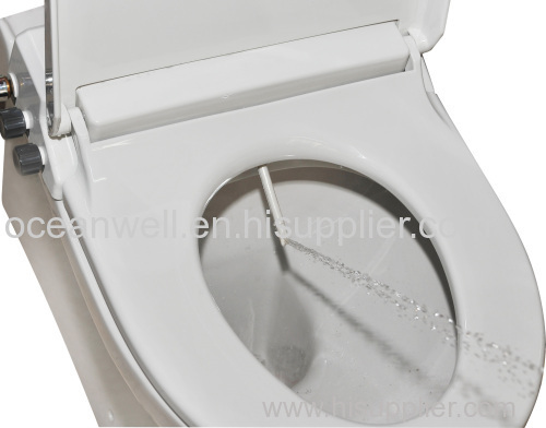 Plastic Bidet Toilet Seat With Cold Water