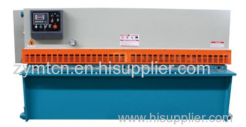 stainless plate shearing machine