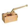 3 way manifold high pressure ball valve