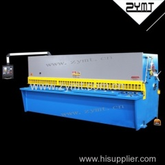 cutting machine sheet metal processing cutting machine swing beam cutting machine