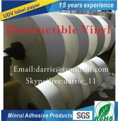 China best factory of lUDV label paper automatic die cut and automatic dispensingthe labels once they are die cutted
