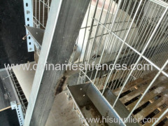 Haotian Galvanized Commercial Farm Child And Mother Rabbit Cages China Factory Indoor Rabbit