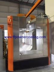 Cabina di spruzzo di polvere dell'acciaio inossidabile