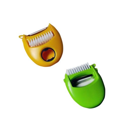Multi-purpose Peeler with brush