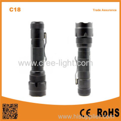 C18 T6 LED 1000 lumens Waterproof torch suitable 18650 battery high quality flashlight