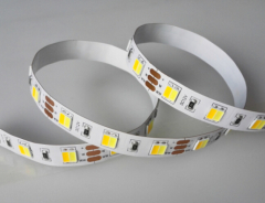 5050 SMD LED flexible Strip lights Warm white+ White