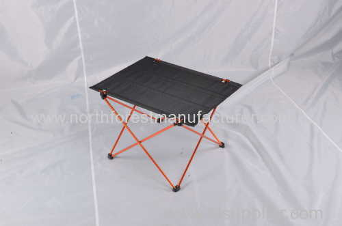 Square camping table-Quick-Pack case