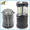 COB camping lantern SMD working lamp 1W LED portable lantern outdoor lamp tent lantern 3*AA battery hook closed lamp