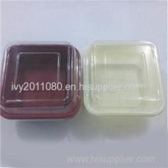 Square Plastic Salad Box