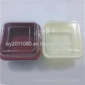 Square Plastic Salad Box