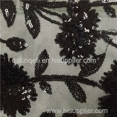 Spangle Embroidery Fabric Product Product Product