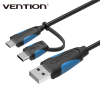 Vention Newest Android Charger Data Cable With Type C Adapter