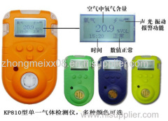 Ammonia (NH3) portable gas detector with pump